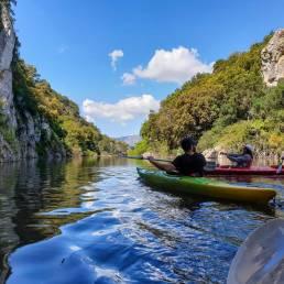 Escursione in kayak sul lago Cedrino